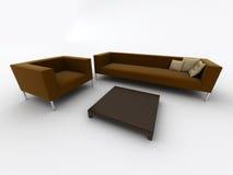 Poltrona del sofà illustrazione di stock