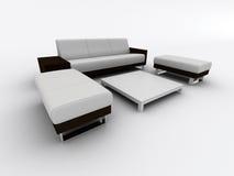 Poltrona do sofá ilustração do vetor