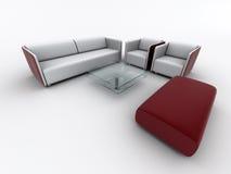Poltrona do sofá ilustração royalty free