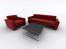 Poltrona do sofá ilustração stock