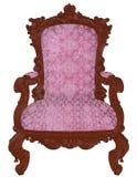 Poltrona - ilustração realística da cadeira 3d Imagens de Stock Royalty Free