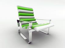 Poltrona verde illustrazione di stock