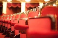 Poltrone teatrali Fotografia Stock