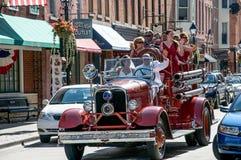 Poślubiający w Galenie, Illinois Zdjęcia Royalty Free