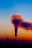 Poluição Foto de Stock Royalty Free