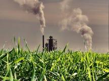 Poluição foto de stock