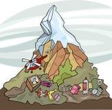 Poluição ambiental ilustração do vetor