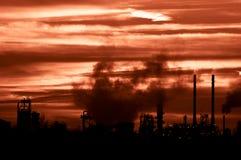 Poluição ambiental fotografia de stock