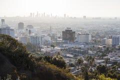 Poluição atmosférica de Hollywood Imagens de Stock
