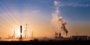 Poluição 3 da manhã Imagem de Stock Royalty Free
