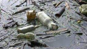 Poluição de água video estoque