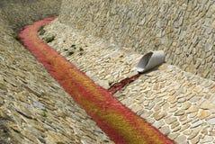 Poluição de água, ambiente tóxico fotos de stock