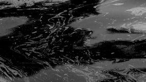 Poluição de óleo do mar video estoque