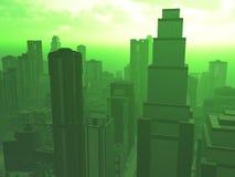 Poluição do ar ilustração stock