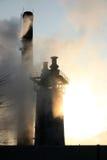 Poluição do ar Foto de Stock