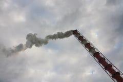 Poluição do ar e aquecimento global - foto conservada em estoque Fotos de Stock