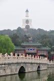 Poluição do ar no Pequim Fotos de Stock