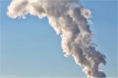 Poluição do fumo Imagem de Stock Royalty Free