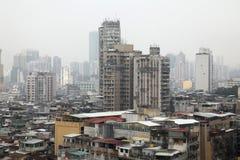 Poluição em China Imagem de Stock