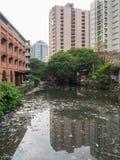 Poluição em Manila Fotografia de Stock
