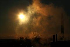 Poluição fresca Imagem de Stock Royalty Free