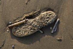 Poluição humana dos mares e dos oceanos imagens de stock royalty free
