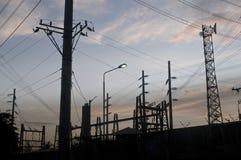 Poluição na cidade Foto de Stock Royalty Free