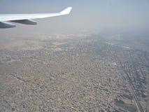 Poluição sobre a cidade do Cairo Fotografia de Stock