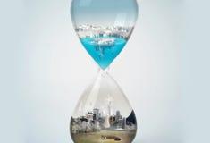 Poluição, terra das economias Imagem de Stock Royalty Free