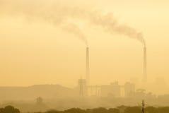 Poluição Fotografia de Stock Royalty Free