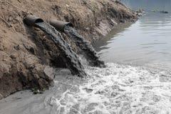Poluição de água Foto de Stock Royalty Free
