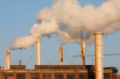 Poluição do ar Foto de Stock Royalty Free