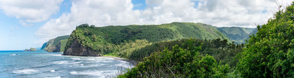 Polulu Lookout - Big Island Royalty Free Stock Photography