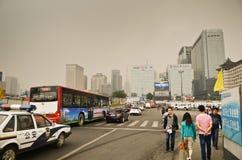 Polutaed Xian City Stock Image
