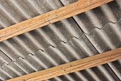 Polutanta azbesta pokrywa Zdjęcie Royalty Free