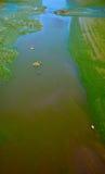 Poluted river Stock Photos
