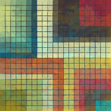 Polution. New royalty free abstract image of colored squares can use like wallpaper Royalty Free Stock Photo