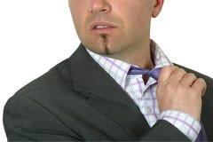 poluzuj krawat pana obrazy royalty free