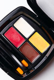 Polvere cosmetica Immagini Stock
