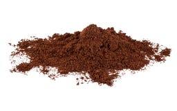 Polvere del caffè Immagini Stock