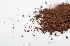 Polvere del caffè istantaneo immagini stock