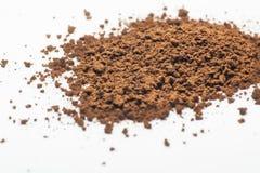 Polvere del caffè istantaneo Fotografia Stock Libera da Diritti