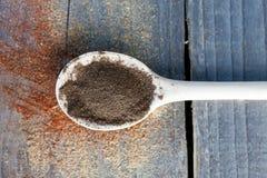 Polvere del pepe Fotografia Stock Libera da Diritti