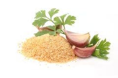 Polvere dell'aglio Fotografia Stock Libera da Diritti