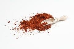 Polvere della paprica Immagine Stock