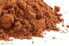 Polvere di cacao Fotografia Stock