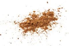 Polvere di cacao Fotografie Stock Libere da Diritti