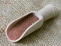 Polvere di cacao Fotografia Stock Libera da Diritti