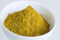 Polvere di curry Fotografia Stock Libera da Diritti