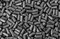 Polvere nera nera Fotografia Stock Libera da Diritti